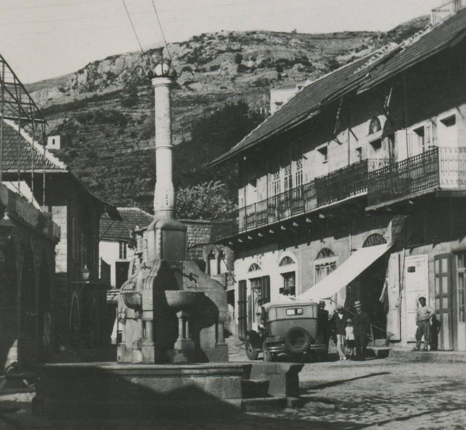 بلدة حمانا في جبل لبنان بداية القرن الماضي
