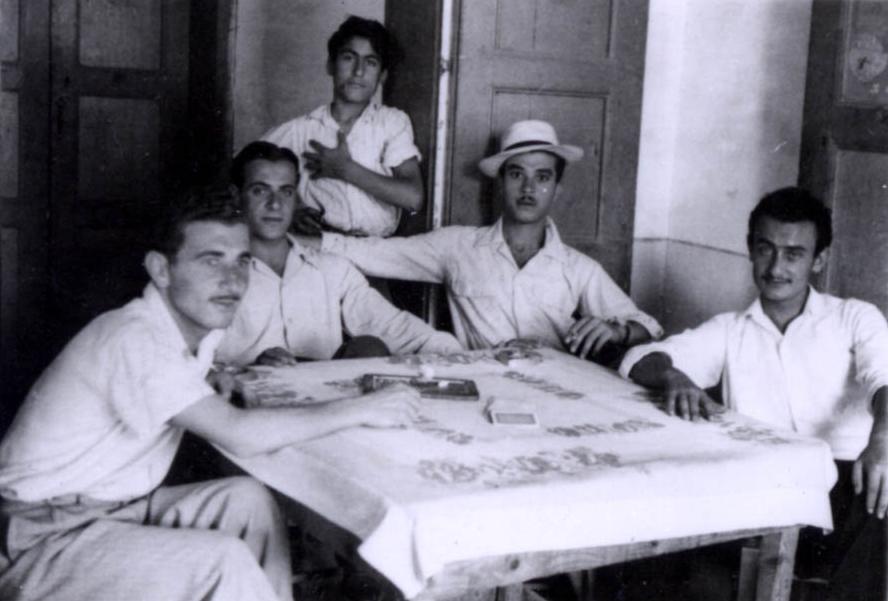 مقهى في النبطية1955