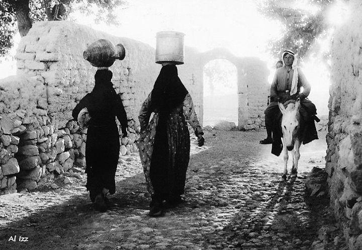 البقاع سنة 1959 - حياة ريفية يومية