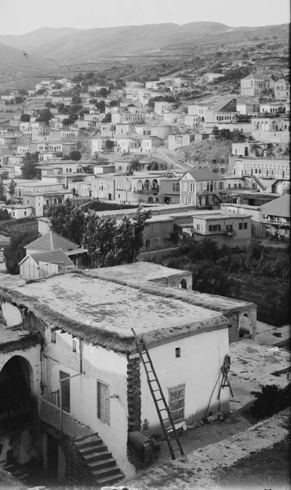 زحلة عام 1936