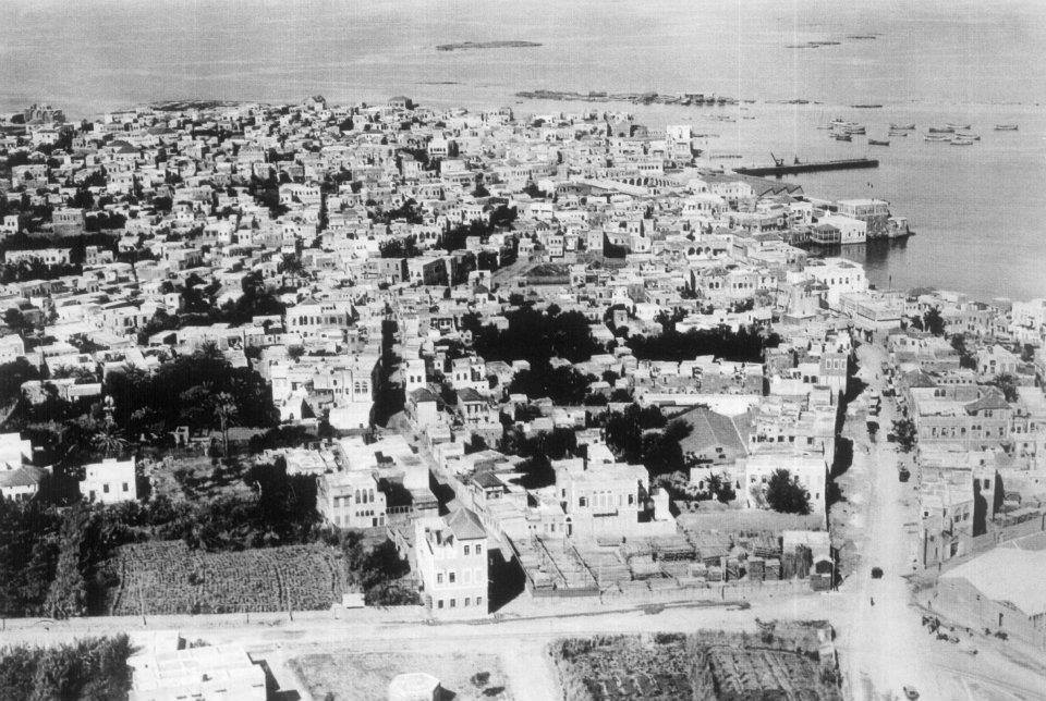 ميناء طرابلس - البوابة - الثلاثينيات