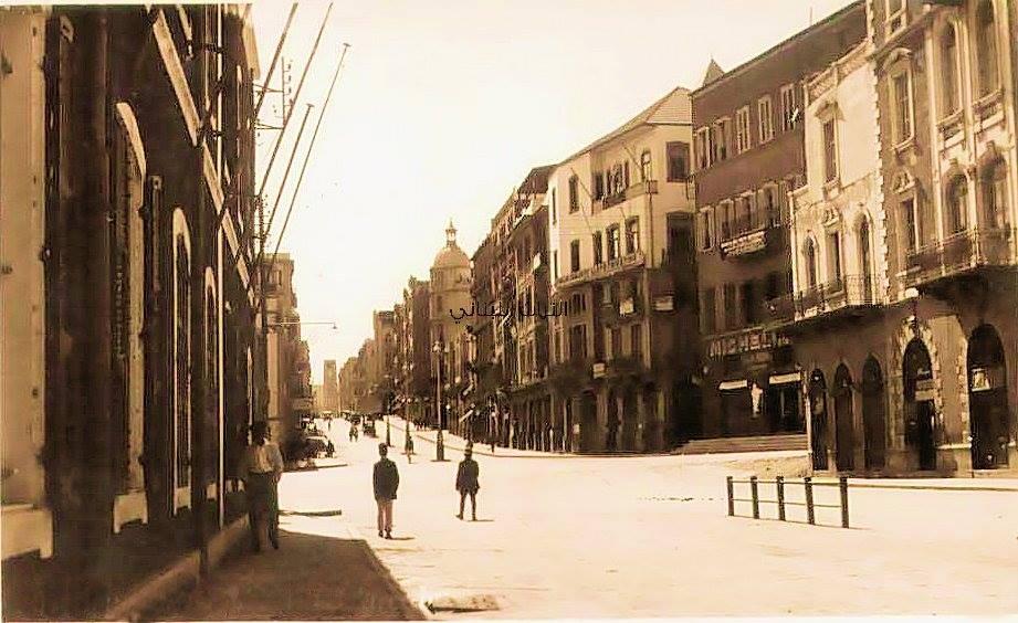 شارع اللنبي ١٩٣٠